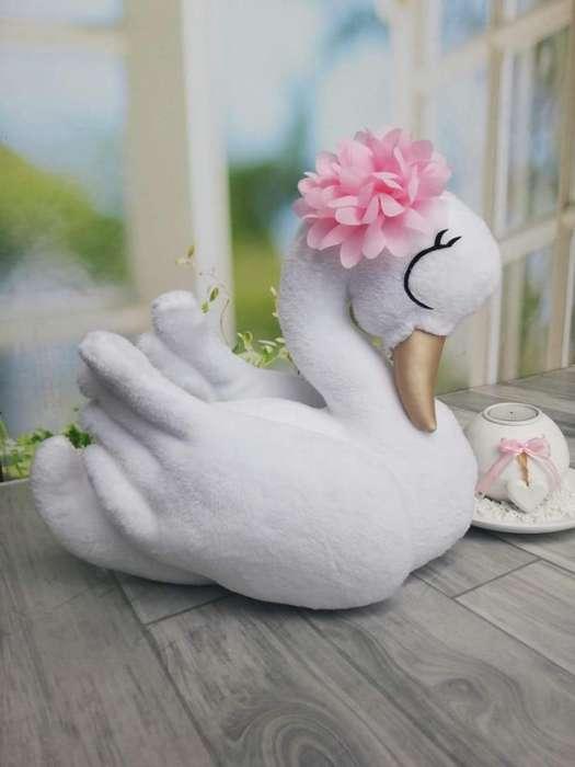 Cojin con forma de cisne para cama o cuna(por mayor y detal)