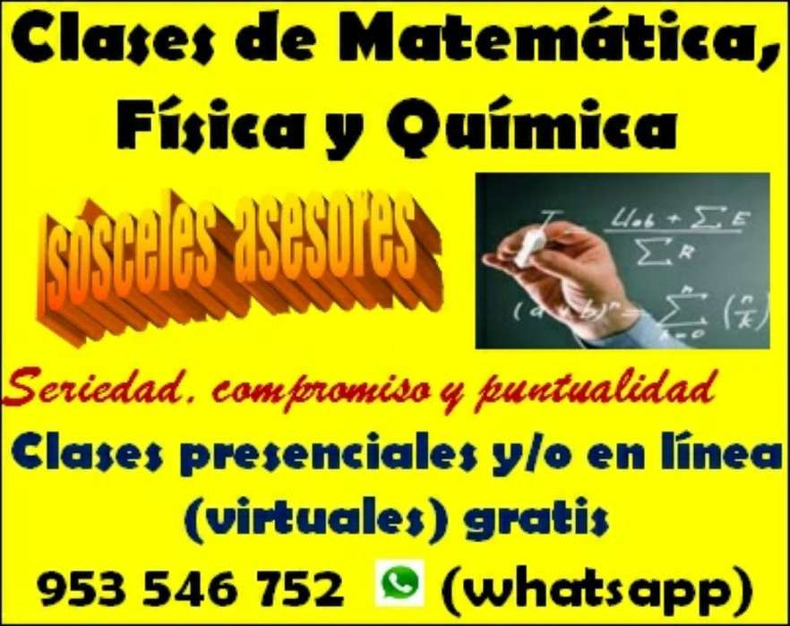 Matemática Física Y Química a Todo Nivel