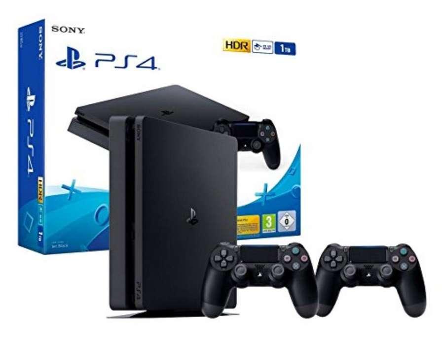 Playstation 4 Slim 1tb Ps4 Dualshock 4