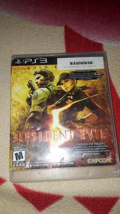 Vendo Juego Ps3 Resident Evil 5