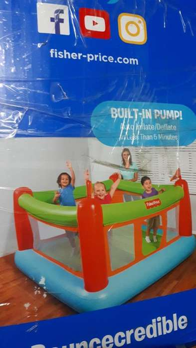 Saltarin Inflable con Bomba Electrica