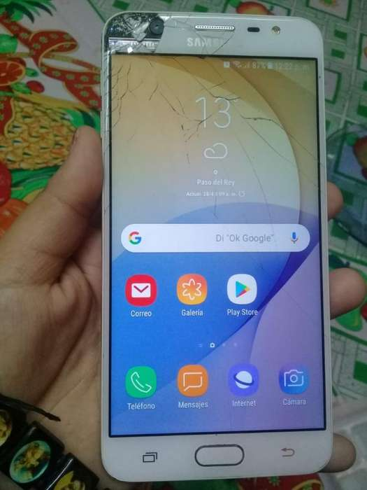 Samsung J7 Prime 16 Gb Libre con Huella