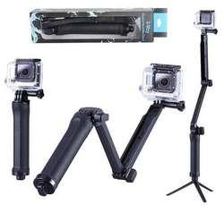 Monopod 3 Way Multifuncional Palo Selfie Gopro 7 6 5 4 3