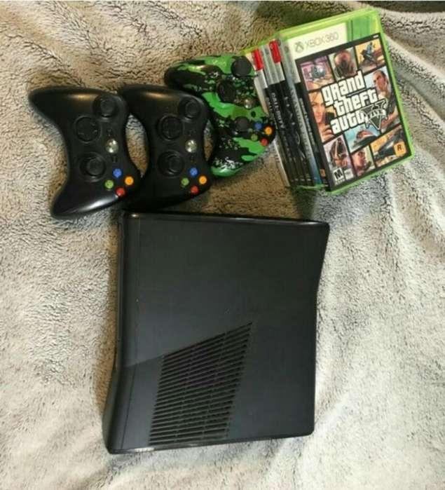 Xbox 360 3 Controles Y Video Juegos