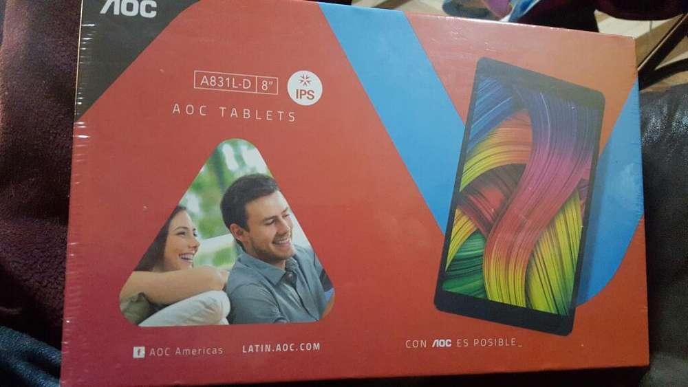 Tablet 8 Aoc Chip 4g 2gb Ram 16gb Nuevo