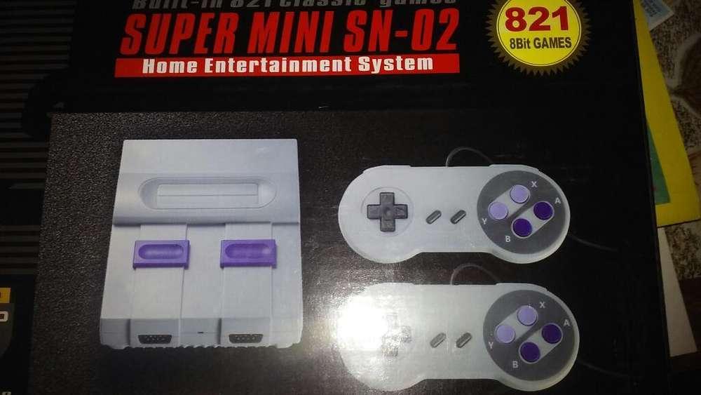 Consola Nueva 821 Juegos 154295841