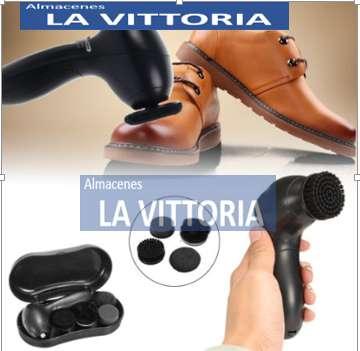 Cepillo Limpiador De Zapatos Electrico