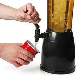 Chopera  Dispenser Bebida Tubo Enfriador