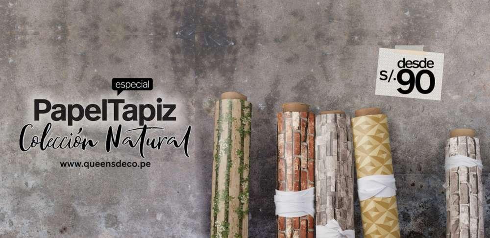 Papel Decorativo para Pared en Lima - Papel Tapiz