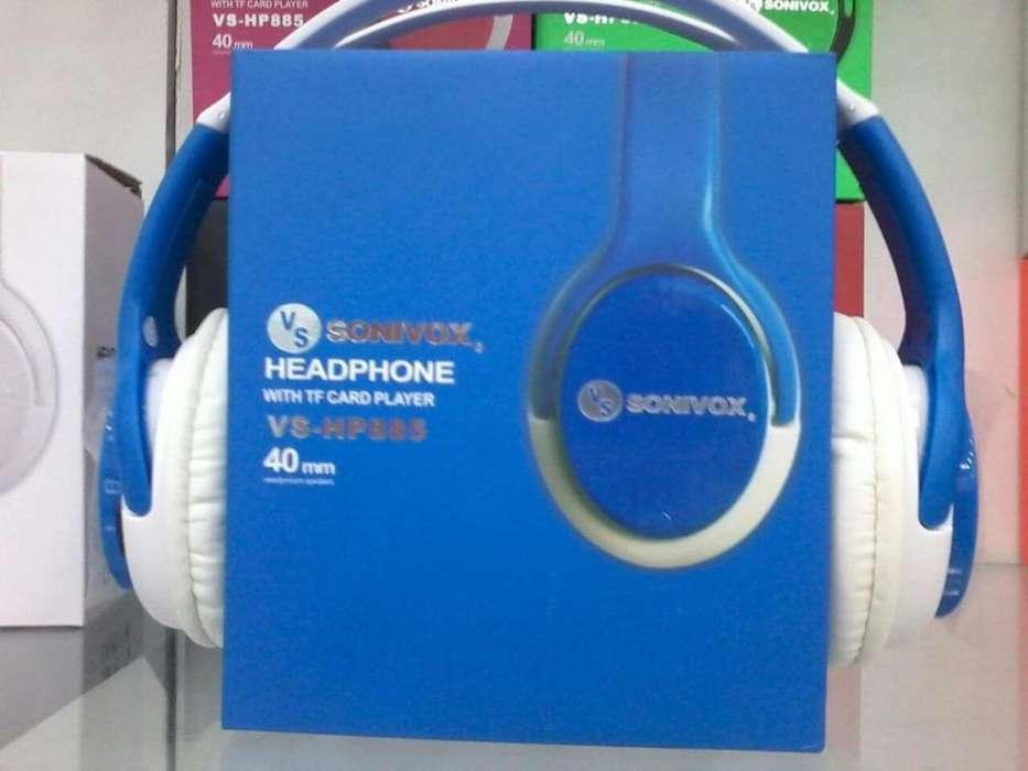 Audífono auricular inalambrico SONYVOX ref vs hp885 NUEVO