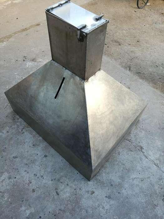 <strong>campana</strong> de Acero Inoxidable