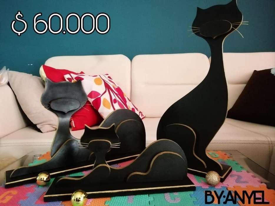 Hermosos Gatos para Decorar Tu Casa.