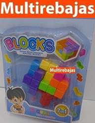 Lego Cubo Rubik Rompecabeza Nino 7 En 1