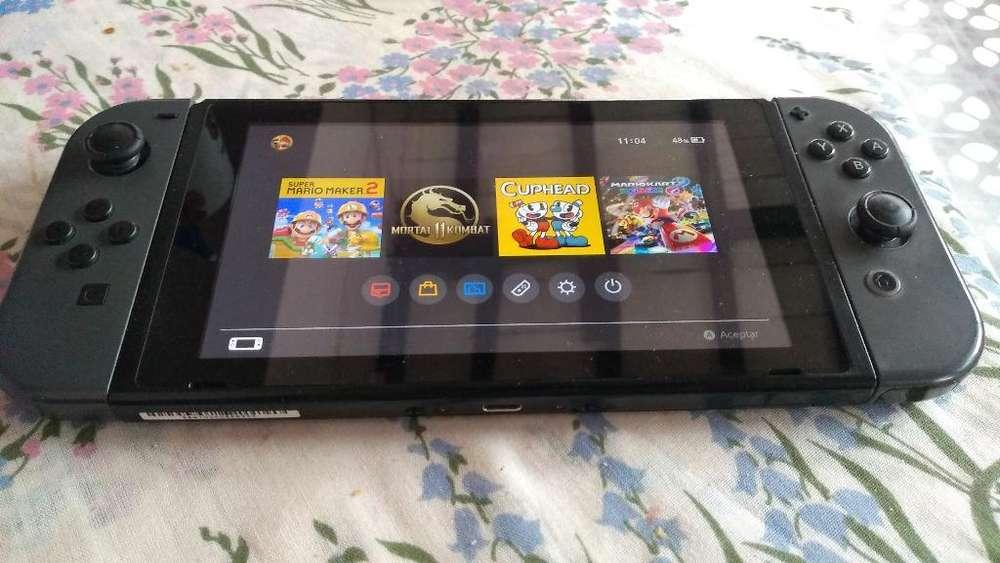 Nintendo Switch Flasheada