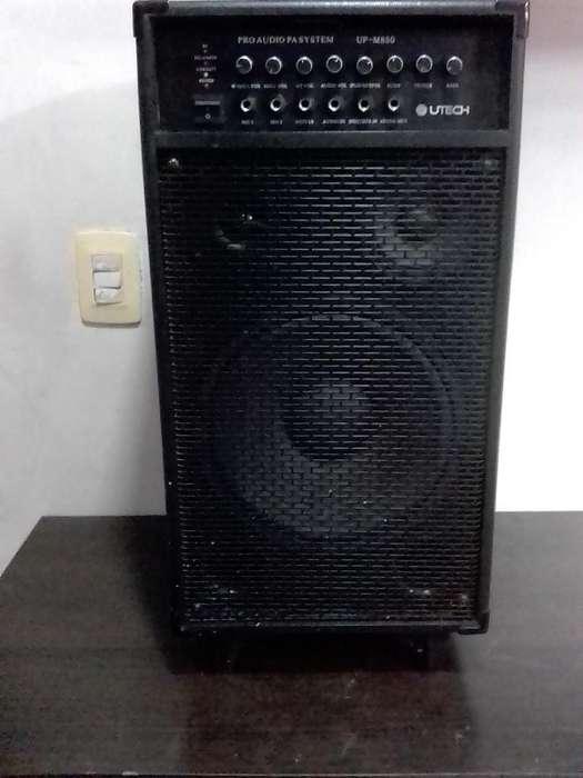 Amp. Utech 800 Watts Portatil