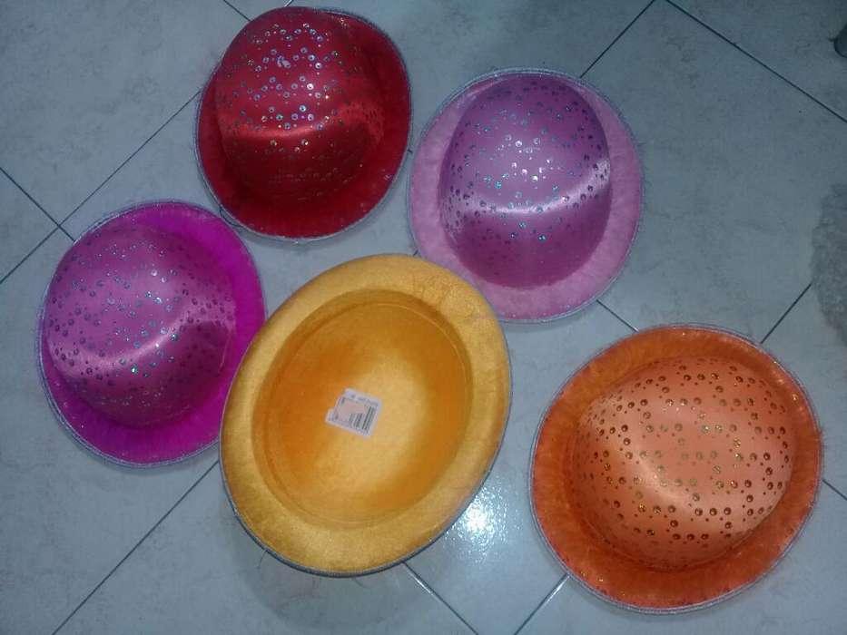 Sombrero Color Aplique Lentejuelas