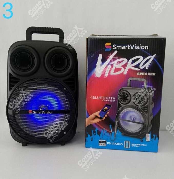 <strong>parlante</strong> Smart Visión Vibra de 8''