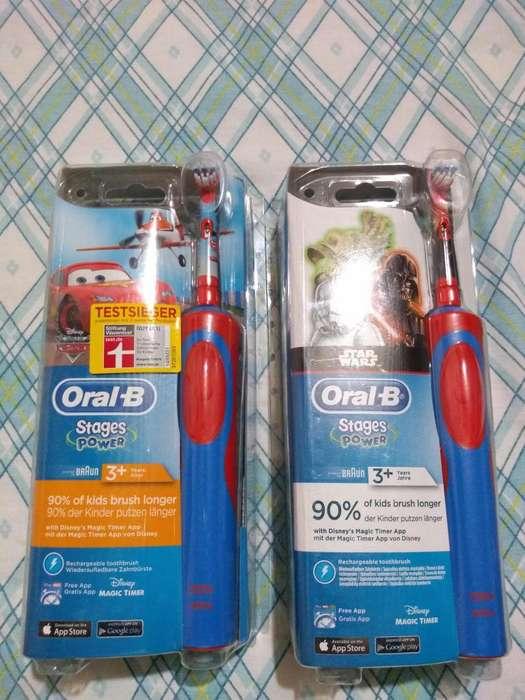 Cepillo Dental Eléctrico Stages Power Kids Oral B Original