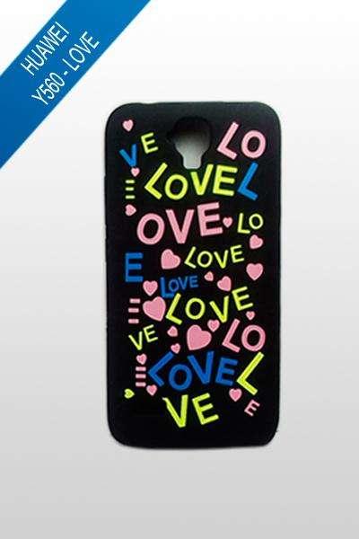 Huawei Y560 - Estuche Love