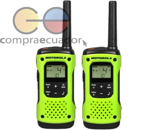 Motorola Radios De Comunicación T600 H2o 56km Resiste Agua
