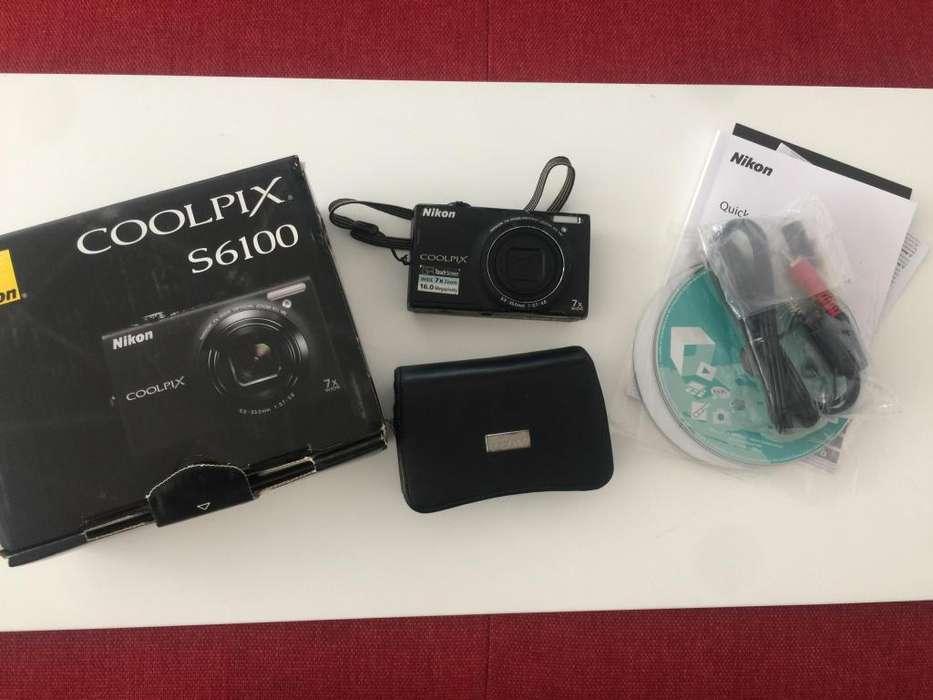 Cámara Nikon Coolpix S6100