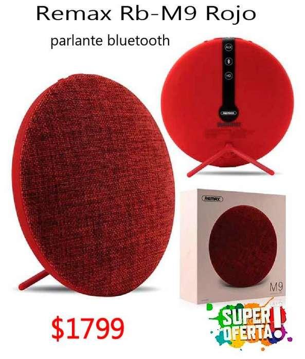 OFERTA! Parlante Bluetooth Portatil Remax Rb-m9 Con Soporte NUEVOS