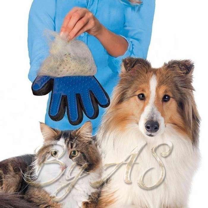 Guante Masajeador quita pelos Mascotas