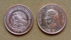 Moneda de 1 centavo México 1935