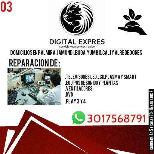 servicio técnico electrónico en televisores pro