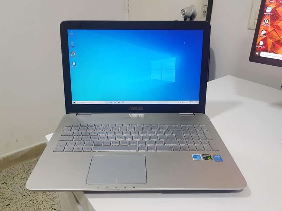 PORTATIL ASUS i7 4ta To 3.50GHZ 8nucleo, 8GB RAM DDR3, 480GB SSD, GTX 850M 4GB DEDICADO DDR3