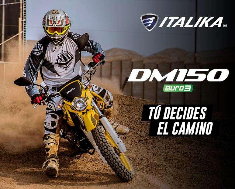 TU DECIDES EL CAMINO : Moto Italika DM 150