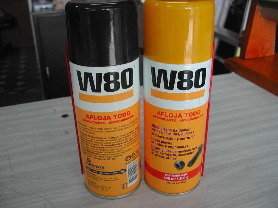 W80 penetrante afloja todo x 445ml