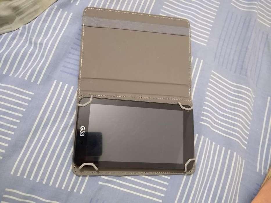 Tablet con Caja
