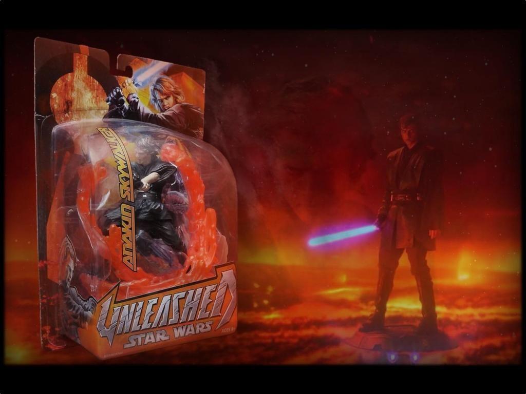 ANAKIN SKYWALKER / STAR WARS: UNLEASHED / pack sellado y nuevo