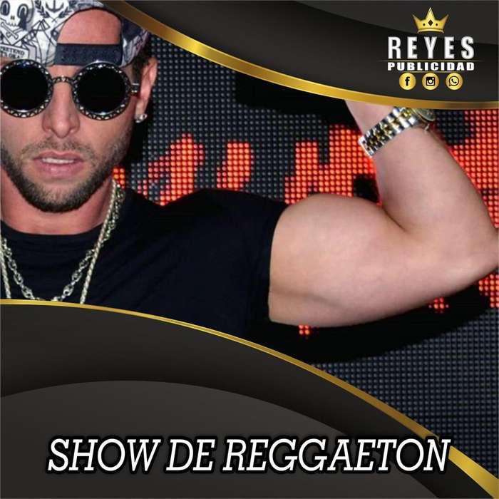 SHOW DE REGGAETON MUSICA CANTANTE SHOW EN VIVO SONIDO CALI MUSICO FIESTAS TEMATICAS EVENTOS ESPECIALES