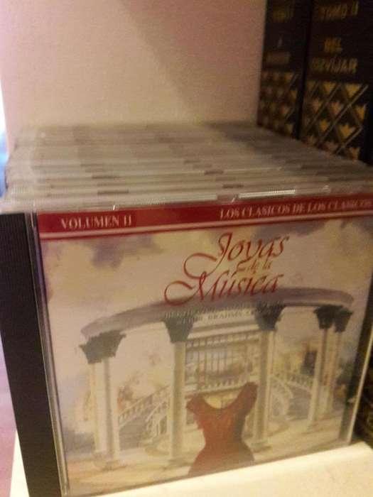 Colección de CDs Joyas de la Música Clásica.