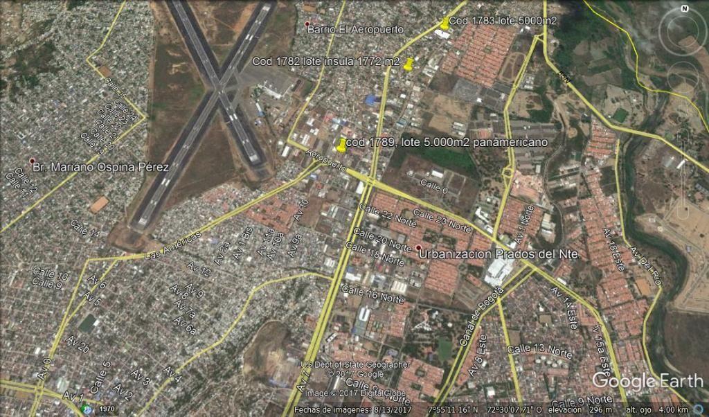 Vendo Lote 5.000 m2 via aeropuerto Barrio Panamericano, Cúcuta