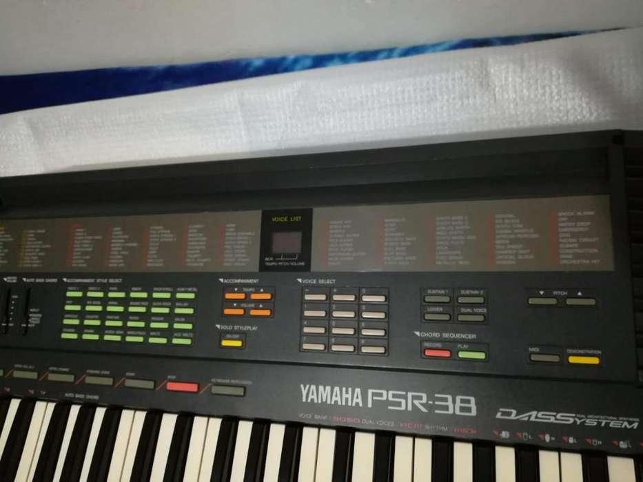 Organo Yamaha Psr - 38 Excelente Estado