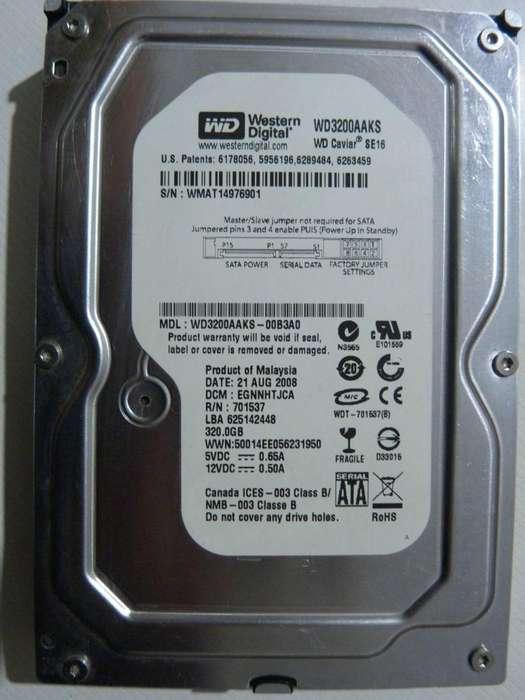 Disco Rígido WD 320GB SATA