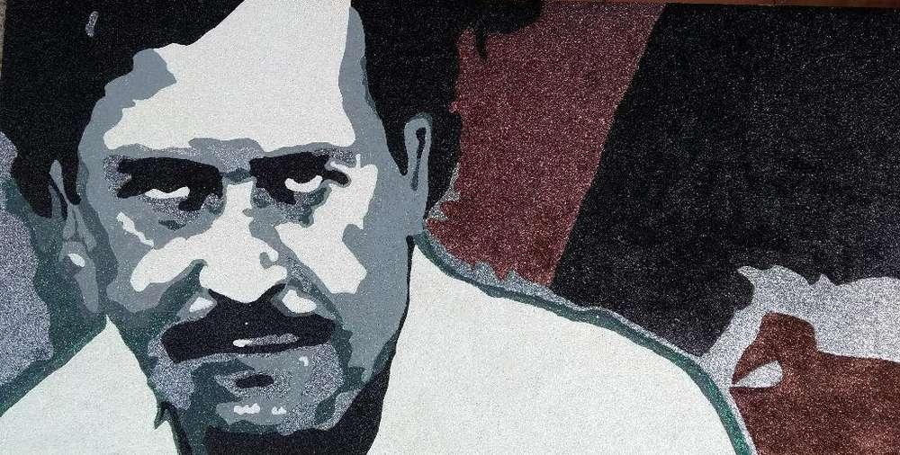 Pablo Escobar en Cristales de Murano