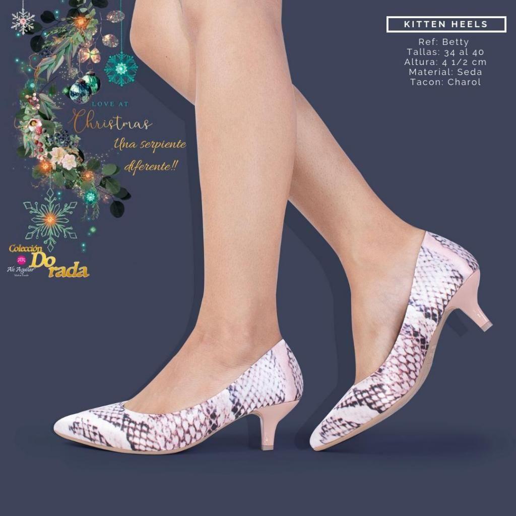 d1527e8f Zapatos para mujer tacones altos y bajos tallas desde 34 hasta 40 ...