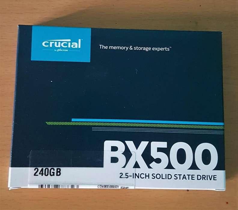 SSD CRUCIAL 240 GB BX500