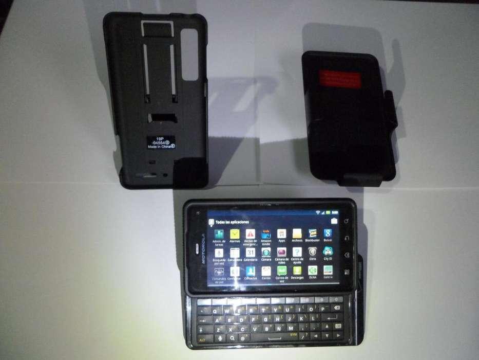 Clasico Y Perfecto Motorola Droid 3 Milestone con hdmi