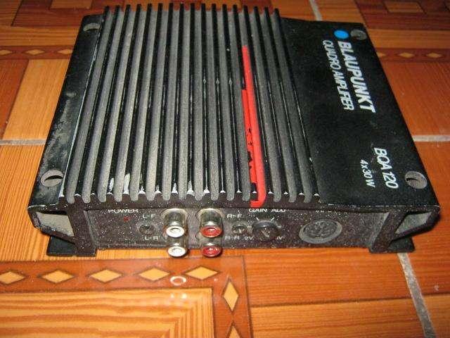 Amplificador Blaupunkt