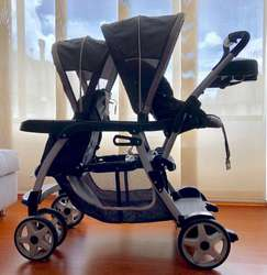 Graco Ready2Grow Lx Stand Ride Duo Double Baby