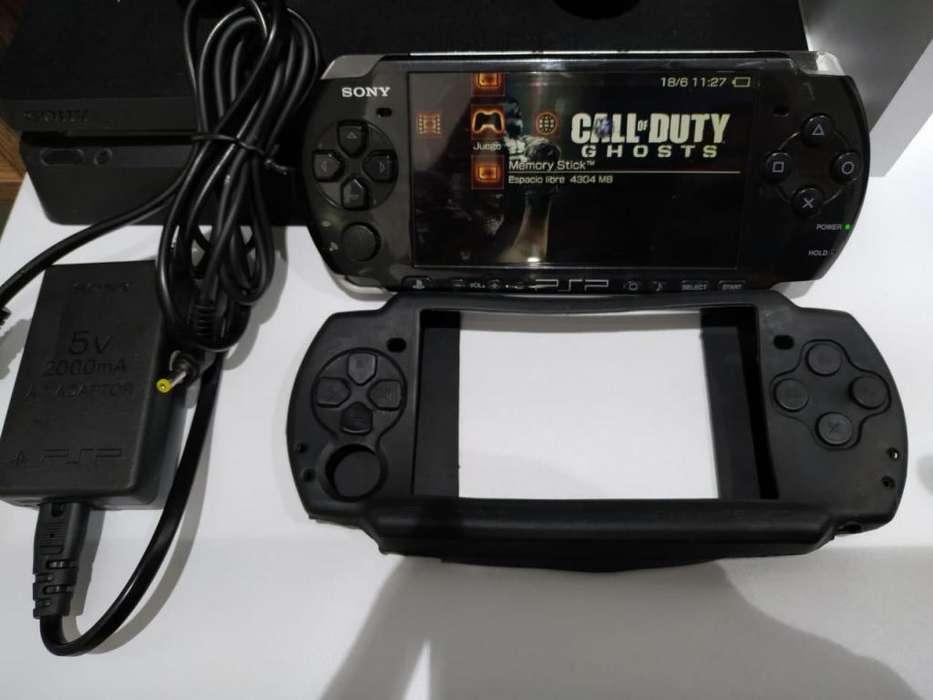 Playstation Portable PSP De mano Original Más de 20 Juegos y Retrocompatible
