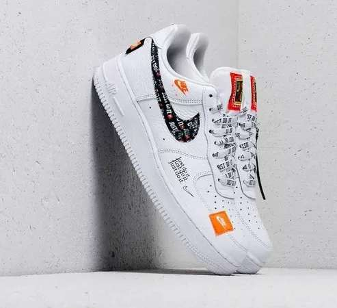 Tenis Nike Air Force One Just Do It Unisex Zapatillas.