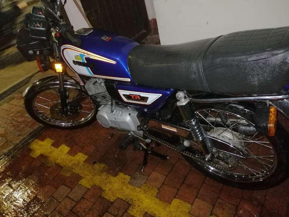 Vendo Suzuki Tr 125
