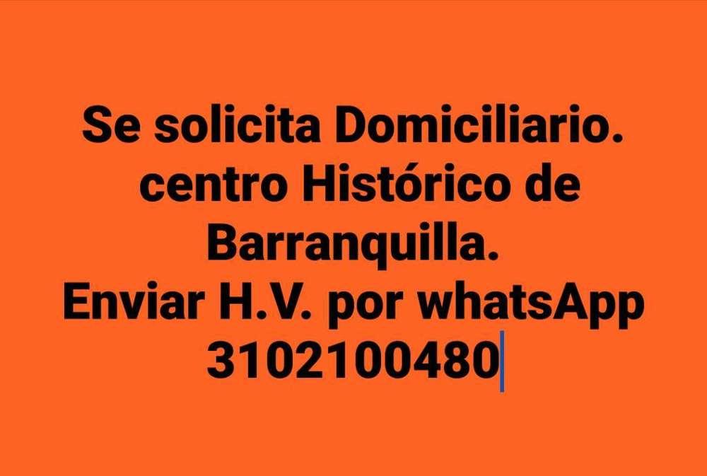 Domiciliario Centro Barranquilla