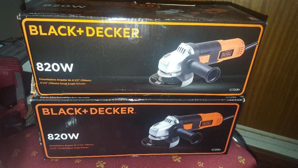 Amoladoras Black And Decker 820w Nuevas